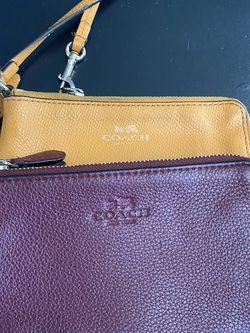 Coach wallets/wristlets for Sale in Nuevo,  CA