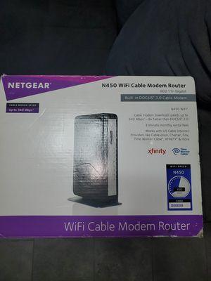 Netgear N450 Modem Router for Sale in Las Vegas, NV