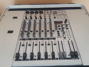 Mixer behringer eurorack ub1204fx pro ,furman power conditioner, american audio cd player for Sale in Cape Coral, FL