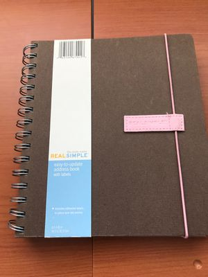 ADDRESS BOOK ( brand new)......pick up Blue Diamond and Decatur for Sale in Las Vegas, NV