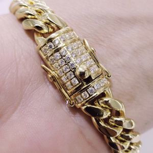 Miami Cuban link bracelet size 8 inches for Sale in Los Angeles, CA