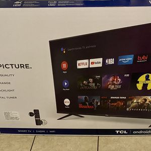TCL 4K Black Friday TV for Sale in Escondido, CA