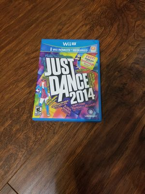 """Nintendo Wii U Video Game """"Just Dance 2014"""" for Sale in Humble, TX"""
