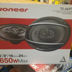New!!! Pioneer 6x9 Speakers 🔊, 650 Watts!! for Sale in Phoenix, AZ
