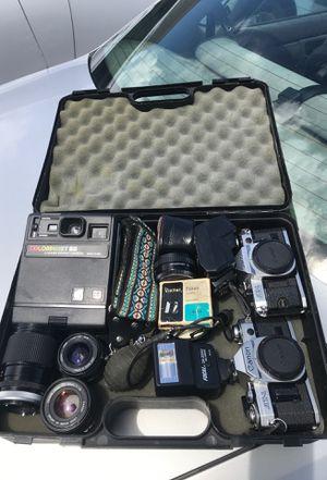 Canon cameras , lenses , straps , Polaroid etc.. for Sale in Las Vegas, NV