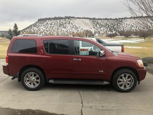 2006 Nissan Armada Used..145,000 miles..Runs super! New tires, brakes, tow package for Sale in Prineville, OR
