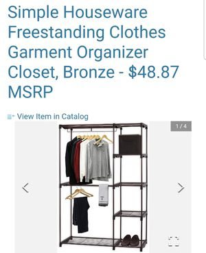 Clothes rack delux for Sale in Boca Raton, FL