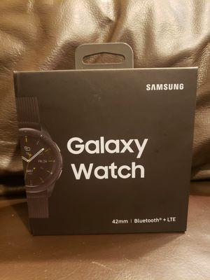 Galaxy Watch (42mm) Midnight Black (Bluetooth + LTE) for Sale in Irvine, CA