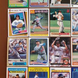 Baseball Cards - Fernando Valenzuela for Sale in Noblesville, IN