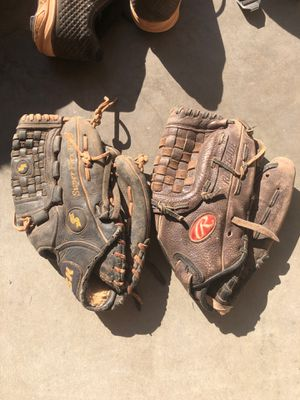 Softball gloves for Sale in Chandler, AZ