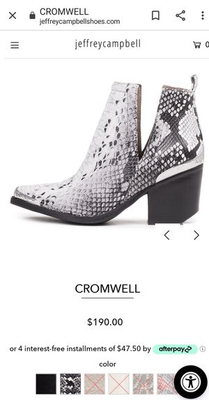 Jeffrey Campbell, Cromwell for Sale in Tacoma, WA