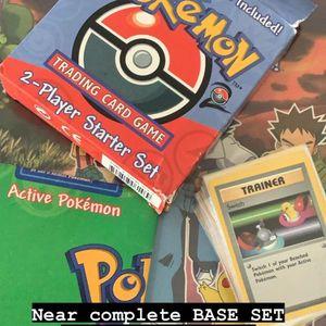 Base Set Pokémon Cards for Sale in Santa Ana, CA