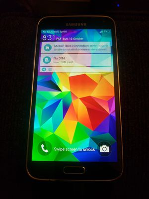 Galaxy S5 for Sprint for Sale in Carson, CA