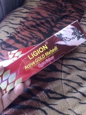 Henna for design on skin / Legion active Gold Mehedi for Sale in Riverside, CA