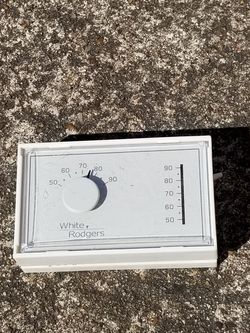 White ROGERS Thermostat Non Mercury Mercury Free for Sale in Houston,  TX