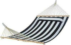 HAMMOCK WHITE AND BLUE WITH PILLOW TOP.(F) for Sale in Ontario, CA