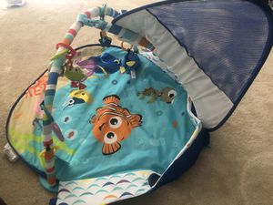 Disney Baby Finding Nemo Mr. Ray Ocean Lights Activity Gym for Sale in Bristow, VA