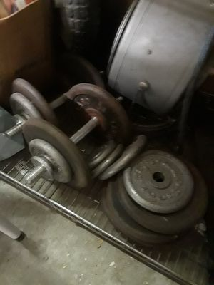 Golds gym weights for Sale in Lombard, IL