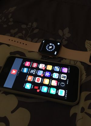 iPhone 6 and series 4 Apple Watch for Sale in Durham, NC
