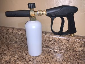 Pressure Washer Foam Cannon & Short Sprayer for Sale in Hollywood, FL