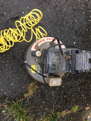 Thomas industries industrial t 50 pancake air compressor 1 HP turbo compressor for Sale in Edmonds, WA