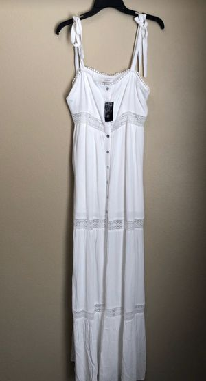 New White Maxi Dress for Sale in Ontario, CA