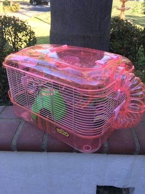 Pet Mouse/hamster/rat cage- lightly used for Sale in Upland, CA