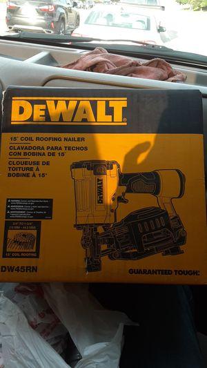 Dewalt roofing nailer for Sale in Denver, CO