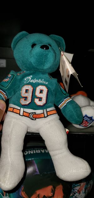 Dolphin mint condition Jason Taylor beanie baby for Sale in Fort Lauderdale, FL