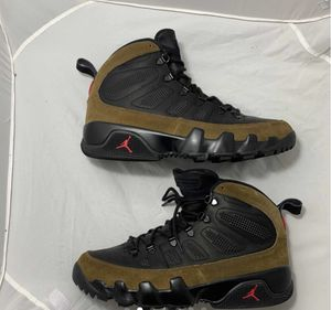 """air jordan 9 retro boot nrg """"olive"""" barely worn sz 12.5 no box for Sale in Columbus, OH"""