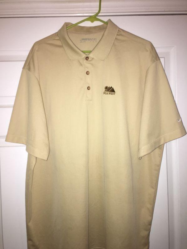 Nike Golf Shirt, PGA West Golf Resort, La Quinta, CA, Extra Extra Large, $10