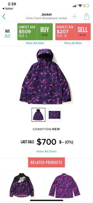 Bape jacket for Sale in Boston, MA