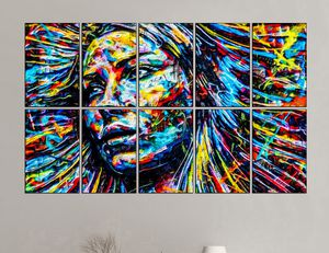 10 piece modern abstract art HD picture poster print with glass frames for Sale in Fort Lauderdale, FL