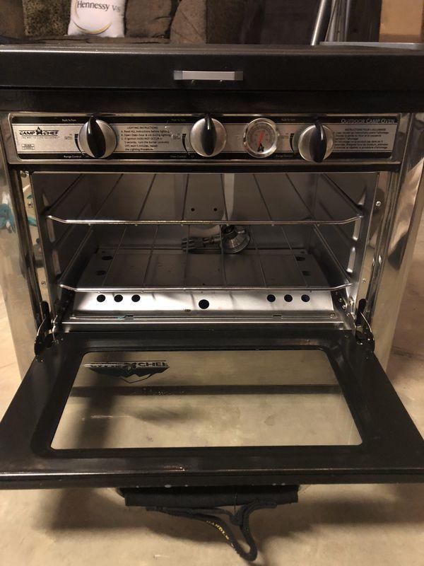 Camp Chef Oven - Burner