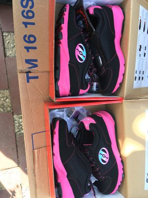 News Heelys size 4 and 5 only $25 each for Sale in San Jose, CA