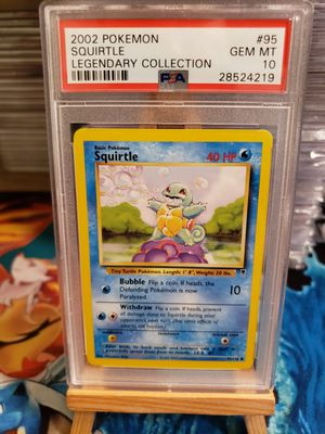 Pokemon PSA 10 GEM MINT Squirtle 95/110 Legendary Collection for Sale in Rolling Hills Estates, CA