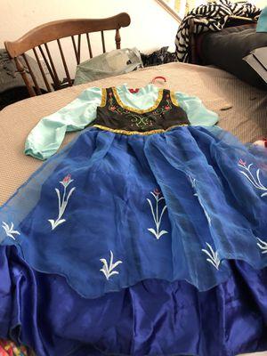 Ana from frozen movie dress for Sale in Hemet, CA