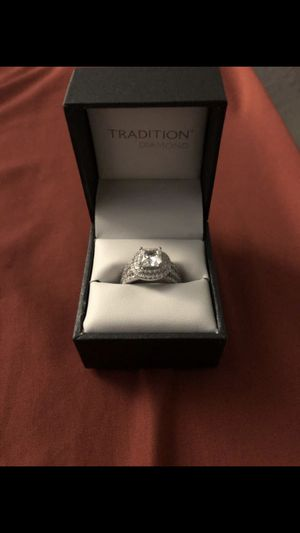 Tradition Dimond Wedding band and ring for Sale in Denver, CO