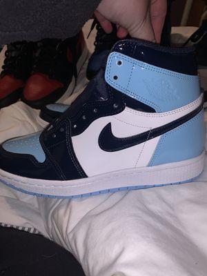 Jordan 1 women blue chill size 7.5w size 6y grade school for Sale in Fremont, CA