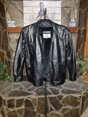 Wilda genuine leather coat for Sale in Lake Alfred, FL