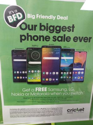 Free phones when you switch for Sale in High Point, NC