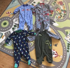 3/6 Month Baby Sleepers (4) for Sale in Chula Vista, CA