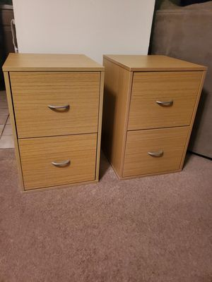 Pair of filing cabinets for Sale in Downers Grove, IL