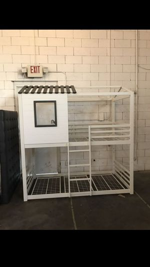 Bunk bed frame for Sale in Dallas, TX