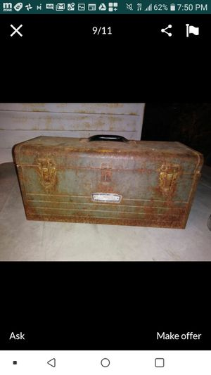 Vintage tool box for Sale in Long Beach, CA