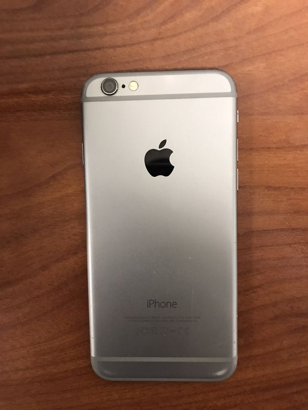 Unlocked iPhone 6 w/ case