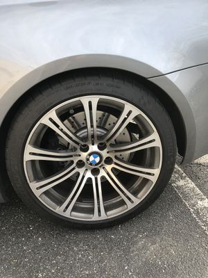 Bmw m3 19 inch wheels and tires for Sale in Rockville, MD