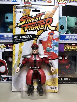 Funko Street Fighter M. Bison Action Figure Collectible for Sale in Long Beach, CA