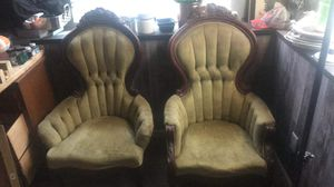 2 very old antique chairs for Sale in Colorado Springs, CO
