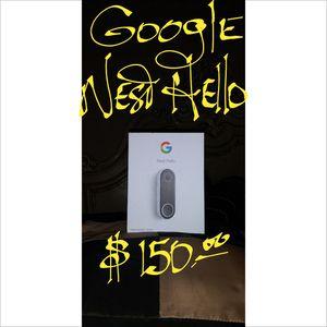 Google Nest Hello Doorbell. Brand New $150! for Sale in Los Angeles, CA
